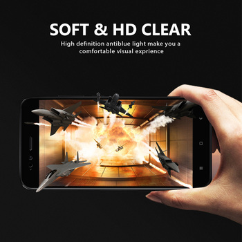 VNSTRIP 2 pcs 9H Tempered Glass film for Xiaomi 5X Full cover Anti-Shock and Anti-Scratch Curved Edge Screen Protector for 5X