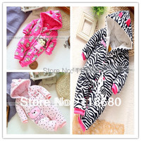 new 2014 autumn Winter romper baby clothing infant rompers baby girl jumpsuit kids cotton romper newborn cartoon animal overall