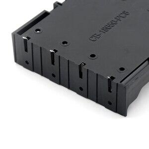 ABS 18650 Чехлы для внешнего аккумулятора 1X 2X 3X 4X 18650 Держатель для аккумулятора футляр для хранения 1 2 3 4 слота контейнер для батарей с жестким штифтом