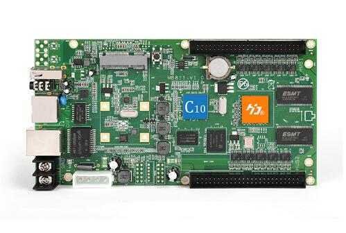 Asynchornous Controller  HD-C10 LED Display Screen Video Control Card  Support 3G/4G/WIFI