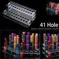 41Grid Lipstick Holder Display Stand Clear Acrylic Cosmetic Organizer Makeup Case Sundry Storage makeup Organizer  #90947