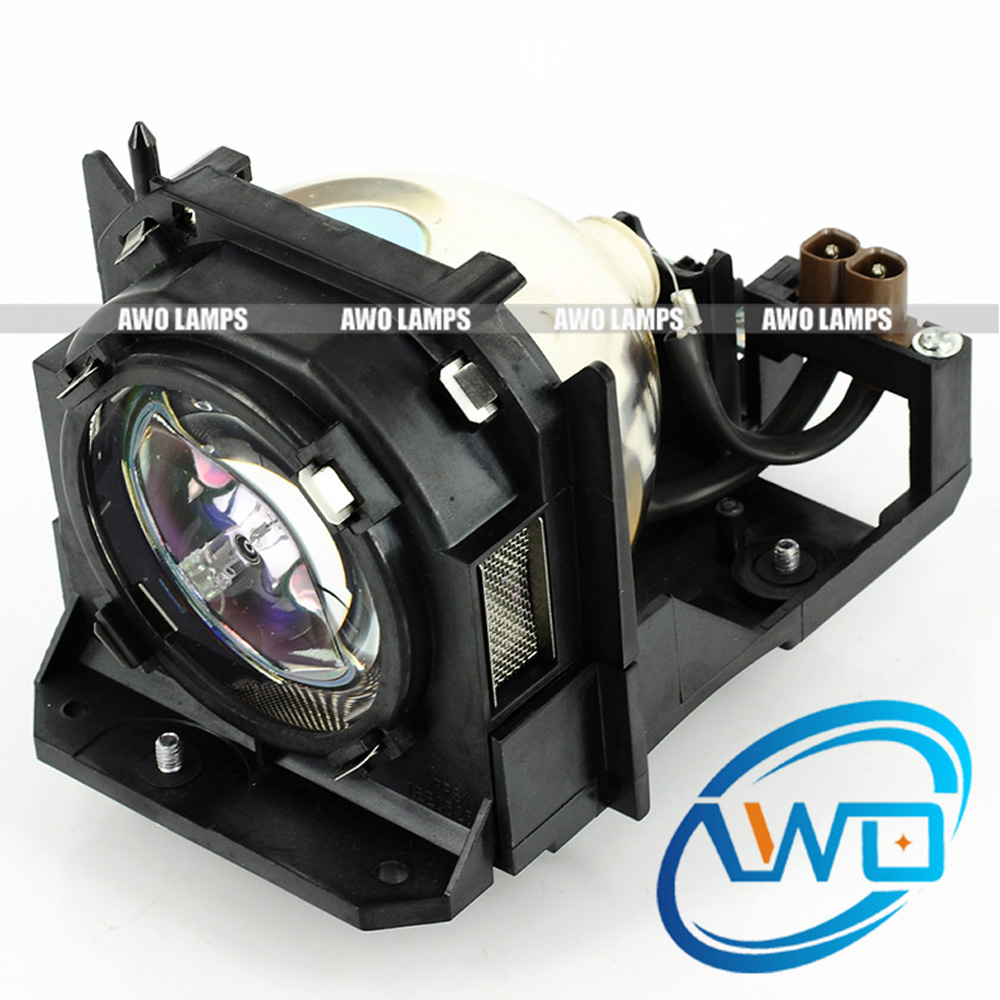 AWO Replacemnet Lamp ET-LAD12K Good Quality Bulb with Housing for PANASONIC PT-DZ12000/PT-D12000/PT-DW100;PT-DW100U/PT-D12000U et lab50 for panasonic pt lb50 pt lb50su pt lb50u pt lb50e pt lb50nte pt lb51 pt lb51e pt lb51u projector lamp bulb with housing