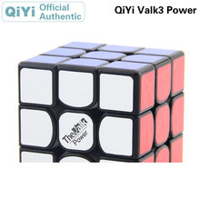 QiYi Valk 3 Power 3x3x3 Magic Cube Valk3 3x3 Cubo Magico Professional Neo Speed Puzzle Antistress Fidget Toys For Children