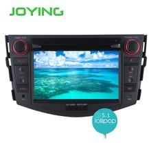 "Joying 7 ""1024*600 2 Din Autoradio DVD de Navegación GPS Del Coche Para Toyota RAV4 Android 5.1.1 Quad Core DVB-T Radio Audio grabadora"