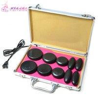 HIMABM Portable Mini Health And Fitness Massage Professional Hot Stone Heater Heating Box