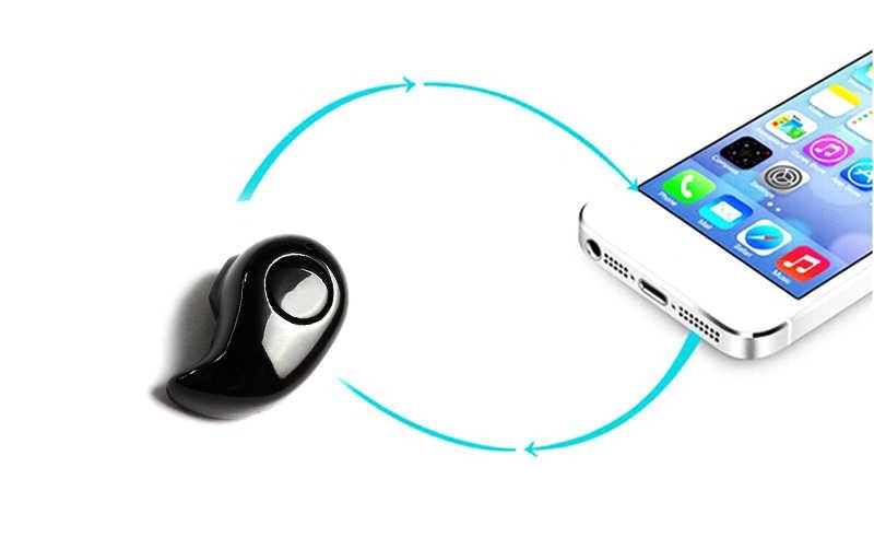 Mini bezprzewodowe słuchawki douszne głośnomówiący słuchawki bluetooth słuchawki douszne stereo douszne zestaw słuchawkowy bluetooth do telefonu #3 $2.1