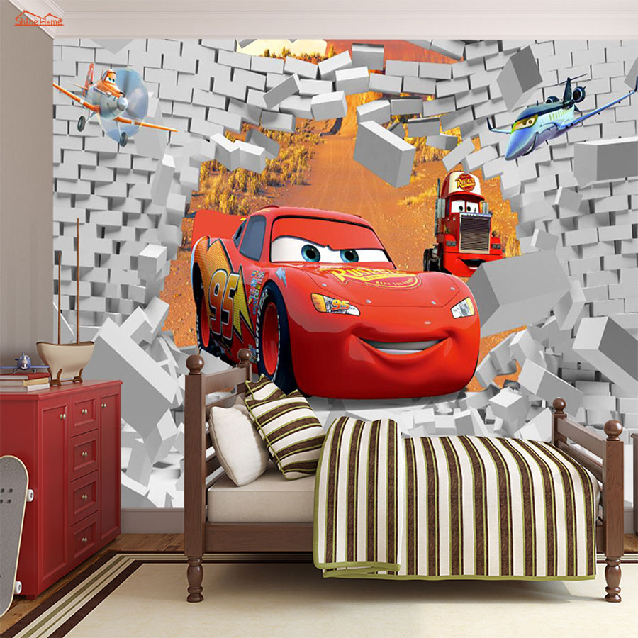 Cool Lightning font b Car b font Bricks 3D Room font b Cartoon b font font