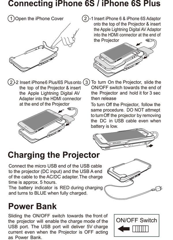 mini led projector 3
