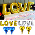 "Love Heart 40"" Foil Helium Birthday Wedding Engagement Balloons Party Decor"