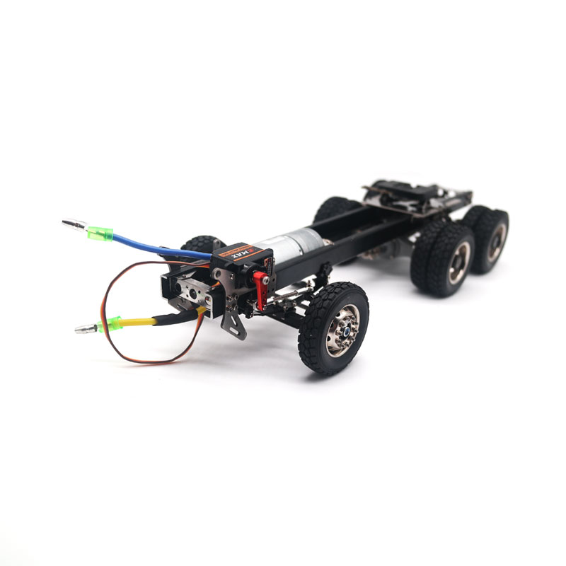 Qin24 1 24 RC Heavy Truck Assembled KIT With Motor And Servo