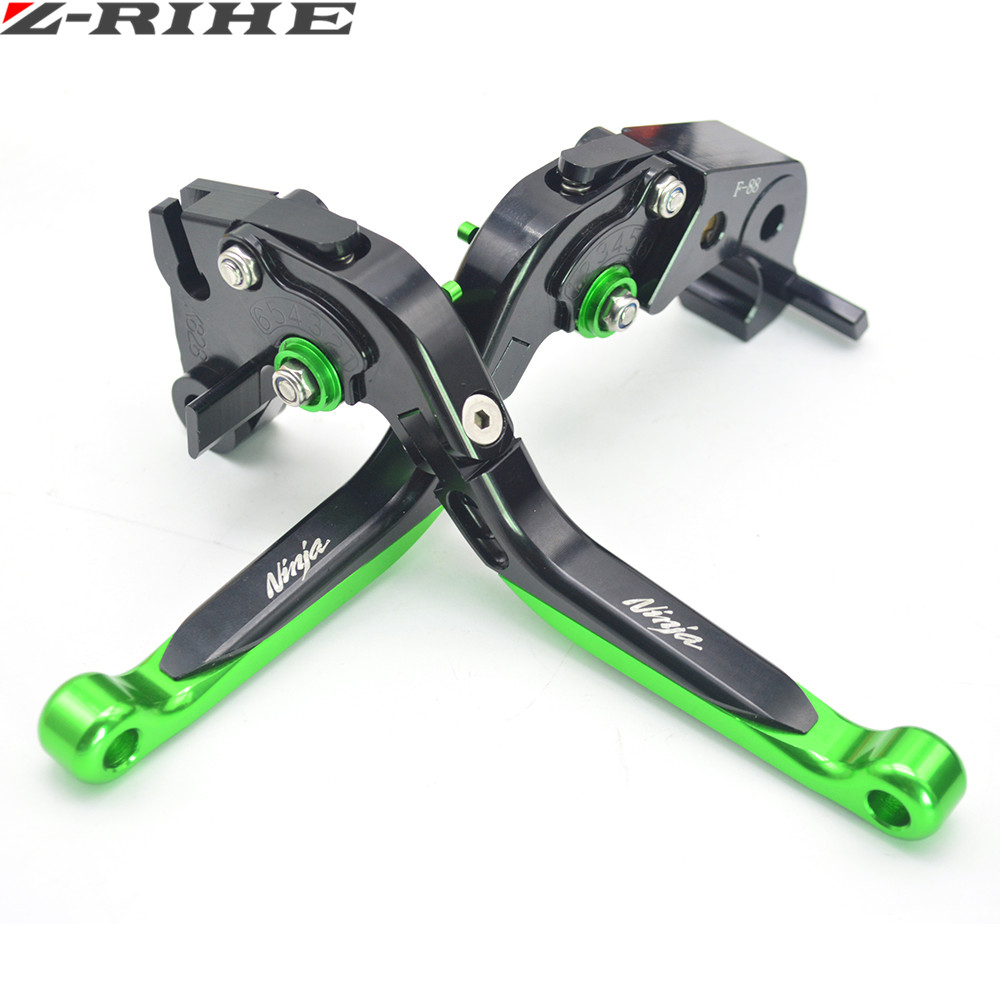 Motorcycle CNC Pivot Brake Clutch Levers Adjustable foldable Levers For KAWASAKI Ninja 300 ABS NINJA 300R 2012 2013 2014 2015 zaykins платья
