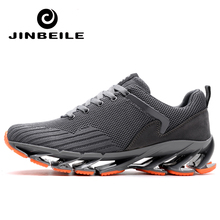 Big Size 45 Men s Running Shoes Non-slip Outdoor Sport Shoes New Design  Springblade sole 2e759bc11