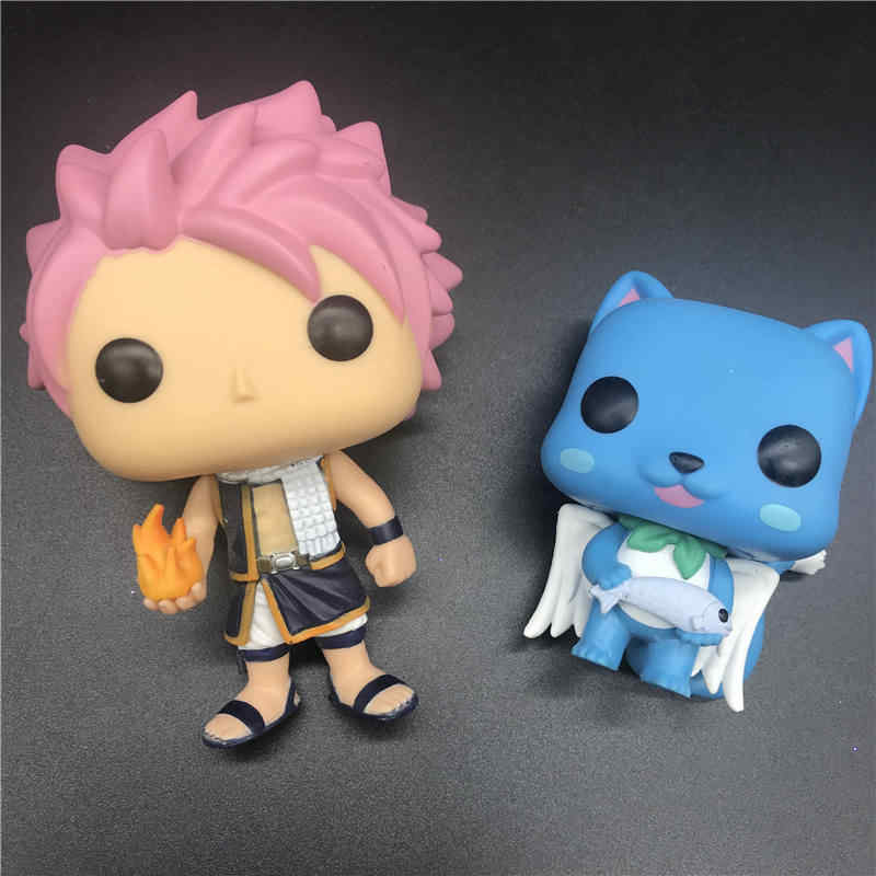 Pops Anime Fairy Tail Feliz/NATSU modelo Action Figure Collectible Modelo toy Vinil Brinquedos no Box