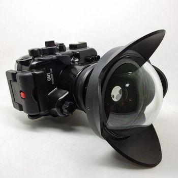 130ft impermeable + de ojo de pez lente de gran angular para Panasonic GM1 filtro|lens angle|angle conversion|lens eyeglass -