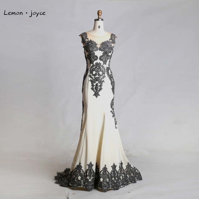 Robe de soiree longue ivoire