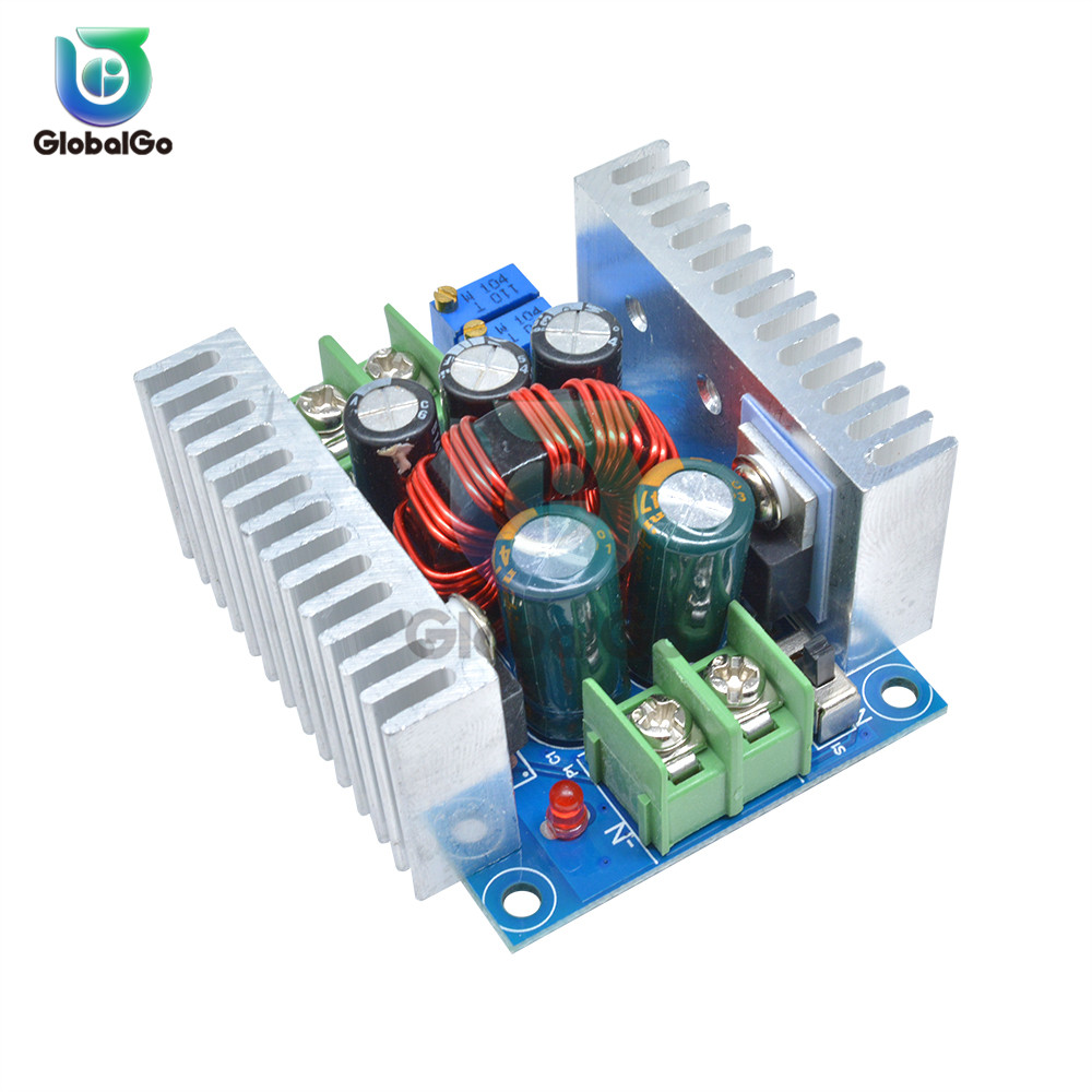 Módulo reductor convertidor de potencia DC 300 W 20A 9A DC-DC 6 V-40 V a 1,2 V -Placa de voltaje de alimentación del Controlador LED de corriente constante de 36 V