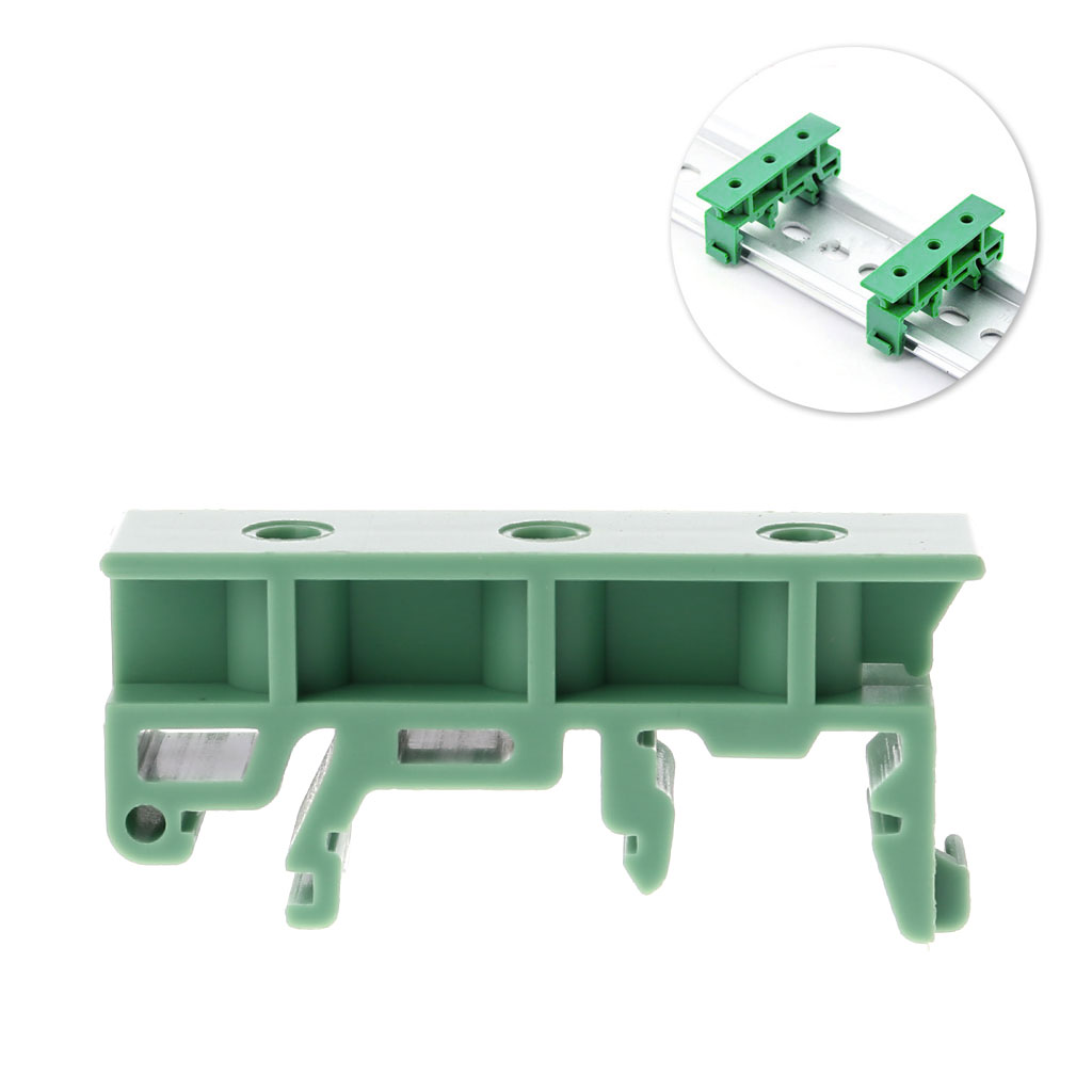 Pcb 35mm Din Rail Mounting Adapter Circuit Board Bracket Holder Simple Clamp Carrier Clips T15 In Connectors From Lights Lighting On Alibaba Group