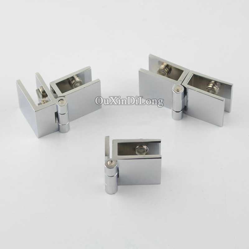 High Quality 500pcs Brass Glass Cabinet Hinges Winedisplay Cabinet