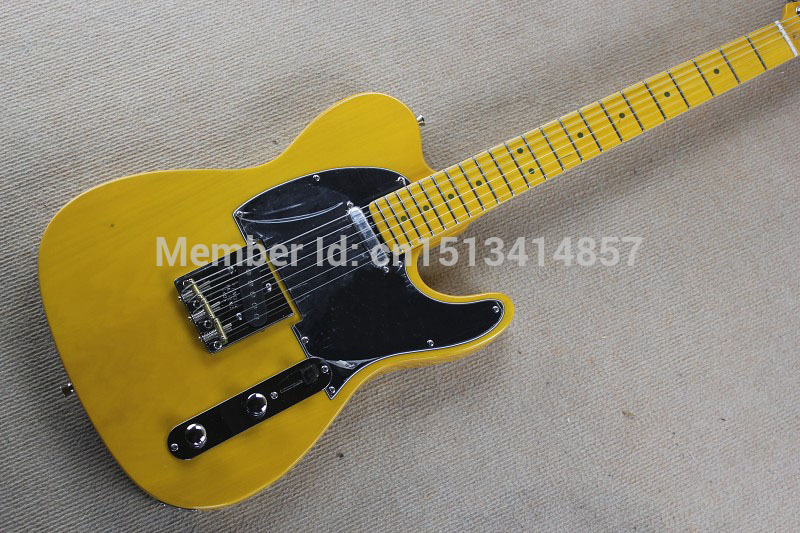 Free shipping Factory Custom Shop 2017 100% Vintage 52 TL Reissue - Butterscotch Blonde TL Electric Guitar Free Shipping 115 free shipping chinese factory custom 2015 100