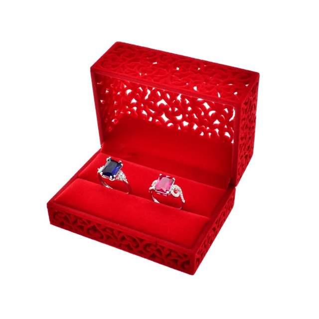 Velvet Suede Wedding Engagement Ring