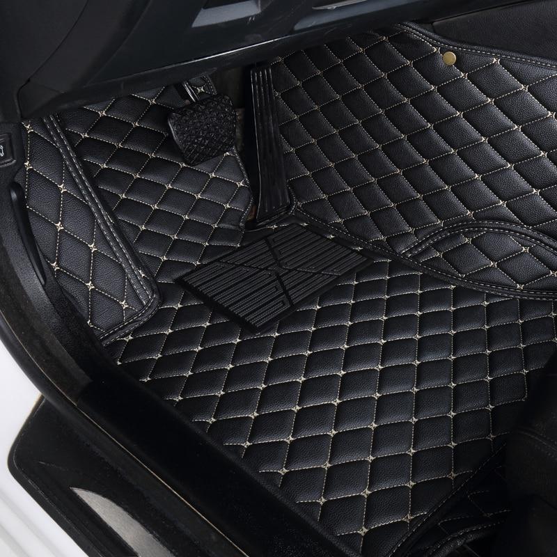 Auto car floor Foot mat For VOLKSWAGEN vw passat b5 touran 2005 polo sedan golf 6 sharan waterproof car accessories