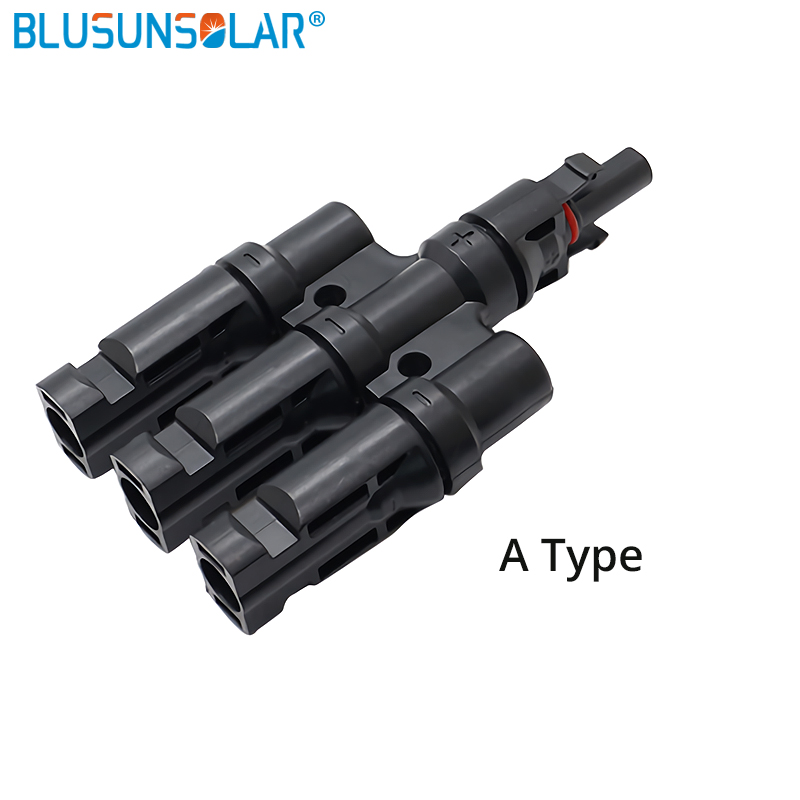 3 in 1 T Branch <font><b>MC4</b></font> Connector Branch <font><b>Adapter</b></font> manufactuers TUV IP67 PV <font><b>MC4</b></font> Connector Used For Solar <font><b>Cable</b></font> 2.5/4/6 mm TF0164 image