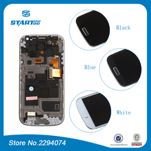 Для Samsung Galaxy S4 mini i9190 i9195 i9192 Duos ЖК-Дисплей с Сенсорным Экраном с Дигитайзер + Рамка Ассамблея рамка(China (Mainland))