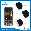S4 mini i9195 lcd para samsung galaxy s4 mini i9190 Duos i9192 i9195 LCD Pantalla Táctil con Digitalizador + Capítulo del bisel asamblea
