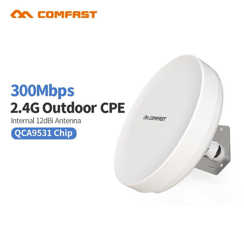 Comfast CF-E210N 2.4G outdoor CPE bridge 300Mbps portable long range Signal Booster 802.11b/g/n Wireless AP wifi nanos OpenWRT