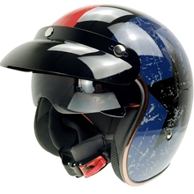 SOMAN SM510 мотоциклетный шлем из меди с защитой от солнца viosd мотоциклетный шлем для старошкольного велосипеда ретро