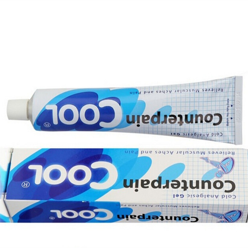 120g Tailandia counterpain fresco analgésico crema masaje y dolor artritis alivio del dolor grave bálsamo aliviar dolores musculares