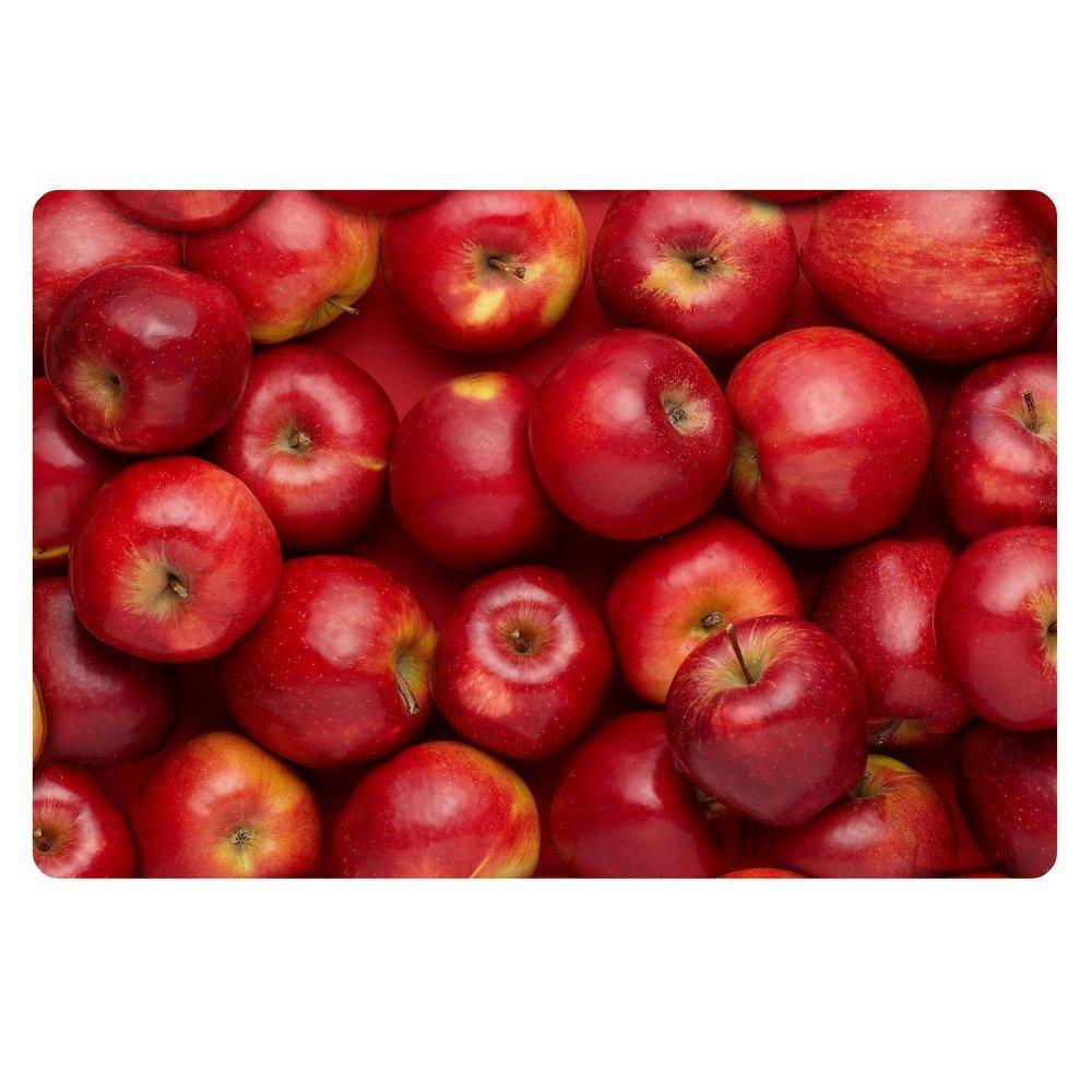 Lovely Apple Kitchen Rugs