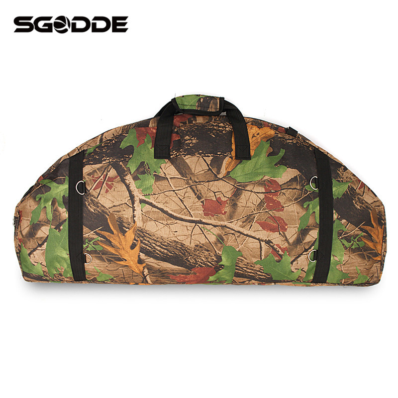 High Quality Compound Bow Bag Waterproof Canvas Large Capacity Durable Wear-resistant Bow & Arrow Hunting Bags Holder Package