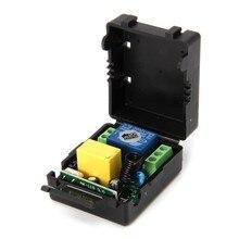 Ac 220 v 10a 1ch rf 315 mhz módulo receptor interruptor de controle remoto sem fio + kit transmissor para casa inteligente