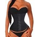 4 De Aço Desossada Torso Longo das mulheres moda venda quente plus size trainer cintura shaper cincher underbust corset bustier