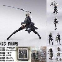 Nier Automata 2B YoRHa No. 2 Type B Game Square Enix Bring Art Robot Action Figure Figurine Toys 6 inch