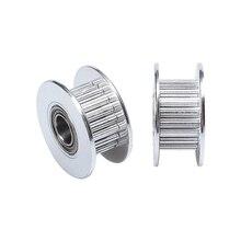 1 шт. 2gt 16 зубы 20 Зубы синхронный колеса Перлин пассивный натяжной шкив Диаметр колес 3 мм 5 мм Бесплатная доставка 3D аксессуары для принтеров