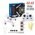 Nova h8 mini drone jjrc headless modo 6 axis gyro 2.4 ghz 4ch RC Brinquedo de Controle Remoto RTF Quadcopter Com 360 Graus Capotamento vs h20
