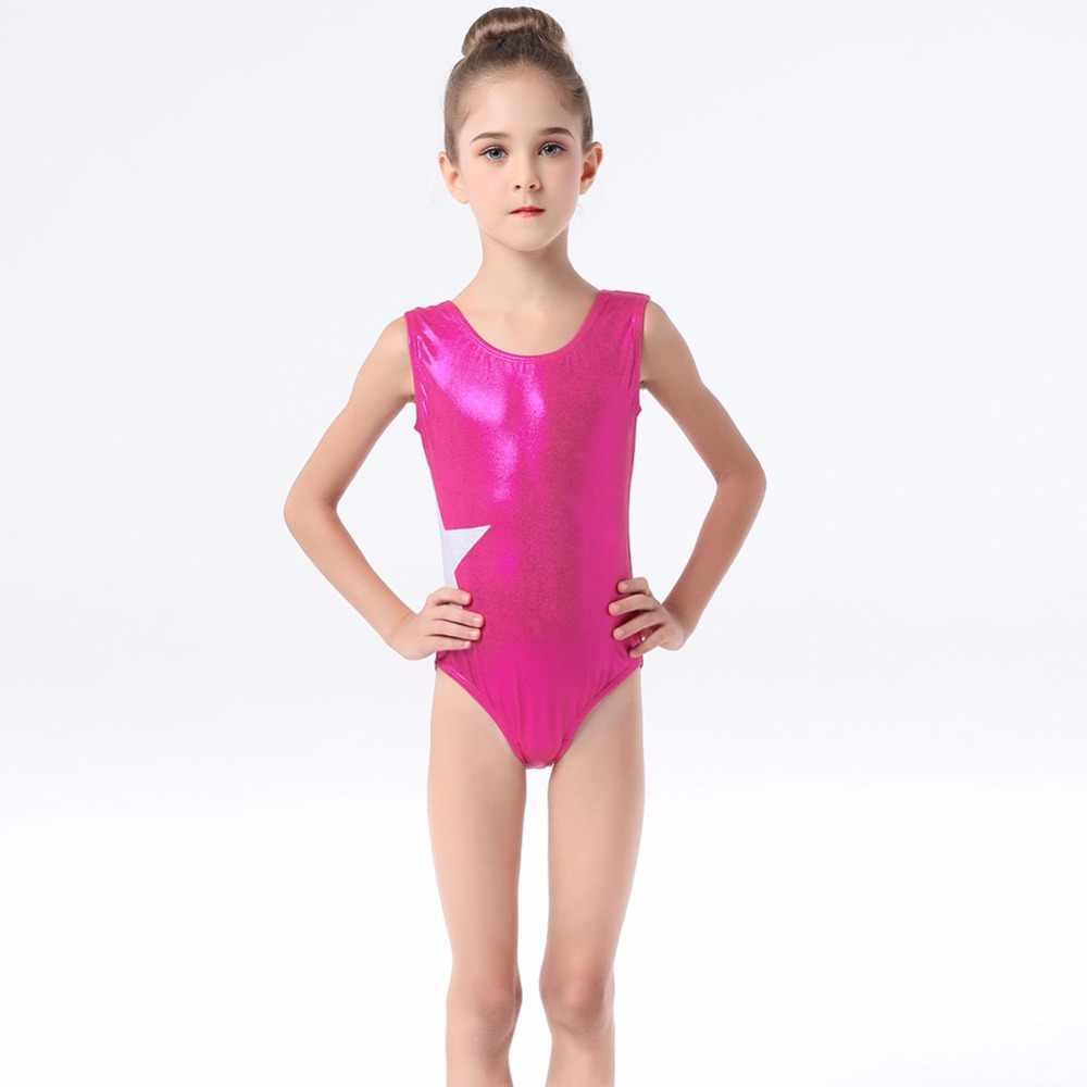 b4a01f9bf5 Detail Feedback Questions about Teen Girls Formal Ballet Dance Fashion  Sleeveless Star Patchwork Gymnastics Leotard Jumpsuit for Kids Costumes Tutu  Bodysuit ...