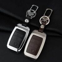 Zinc Alloy Leather Car Key Cover Case For Kia Sportage R K3 K4 K5 Ceed Sorento