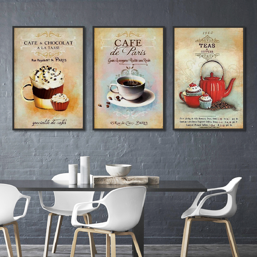 Nordic-Poster-Vintage-Modern-Minimalist-Coffee-Dessert-Canvas-painting-Abstract-Home-Decoration-Kitchen-Wall-Pictures-Unframed (2)