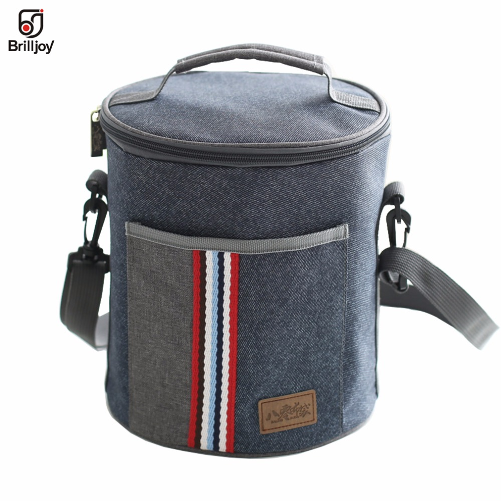 <font><b>Lunch</b></font> Bags Fresh Keeping <font><b>Ice</b></font> <font><b>Pack</b></font> Handbags Women Men child Food Picnic Cooler Bag Insulated Storage outside Picnic Container140 image