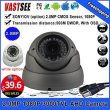 Al aire libre 1080 P 2.0MP cámara sony AHD-H/ov sensor domo impermeable/a prueba de vandalismo de Visión Nocturna Lente de zoom de cámaras de seguridad de segurança