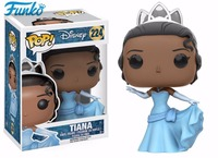 Exclusive Funko POP Official Princess Tiana Vinyl Figure Collectible Girl Birthday Wedding Cute Model Toy Gift With Original Box