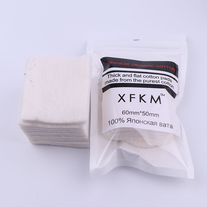 XFKM 10pcs/pack Organic Japanese rda cotton For RDA RBA Atomizer e cig DIY Electronic Cigarette Heat Wire Organic otton new arrival high quality cotton bacon rda cotton for rda rba atomizer e cig diy electronic cigarette