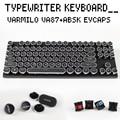 O Varmilo  va87m backlit mechanical keyboard PBT keycap DIY custom cherry green brown green gateron swtich
