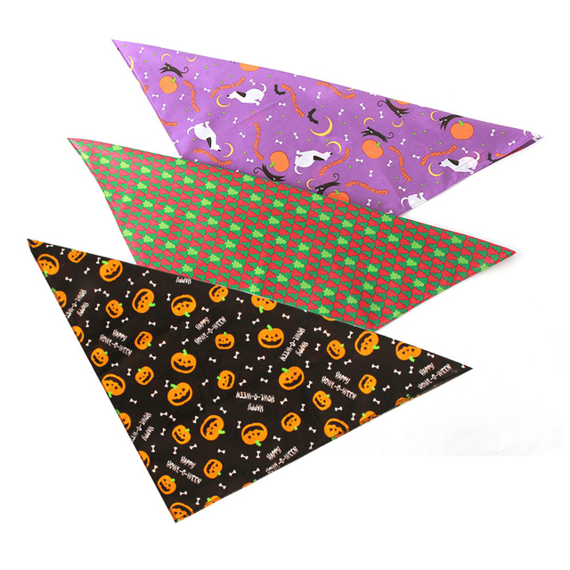Halloween Pet Dog Accessories Dogs Bibs Cat Bowtie Dog Bandana Pet Accessories for Dogs Scarf Mascotas Perros Accesorios 1