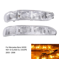 Car Door Side Mirror LED Turn Signal Light Lamp Indicator For Mercedes Benz W220 W215 S