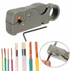 1 шт. бытовой Multi Инструмент для зачистки кабеля регулируемые двойные лезвия RG6/59 для зачистки проводов автоматический резак для кабеля