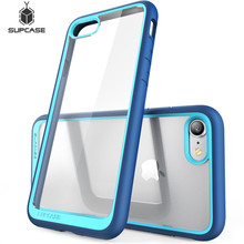 """SUPCASE For iphone 7 Case For iPhone SE 2020 Case 4.7"""" UB Style Premium Hybrid Protective TPU Bumper + PC Clear Case Back Cover"""